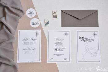 Flara i Gwasz zaproszenia ślubne i fotografia, Zaproszenia ślubne Kalisz