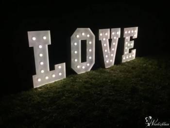 Świecący napis LOVE Dekori-Flora, Napis Love Miechów