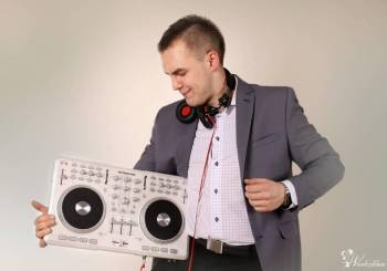 DJ/WODZIREJ Mateusz Malik/ Napis LOVE 120cm/ Ciężki dym, DJ na wesele Świętochłowice
