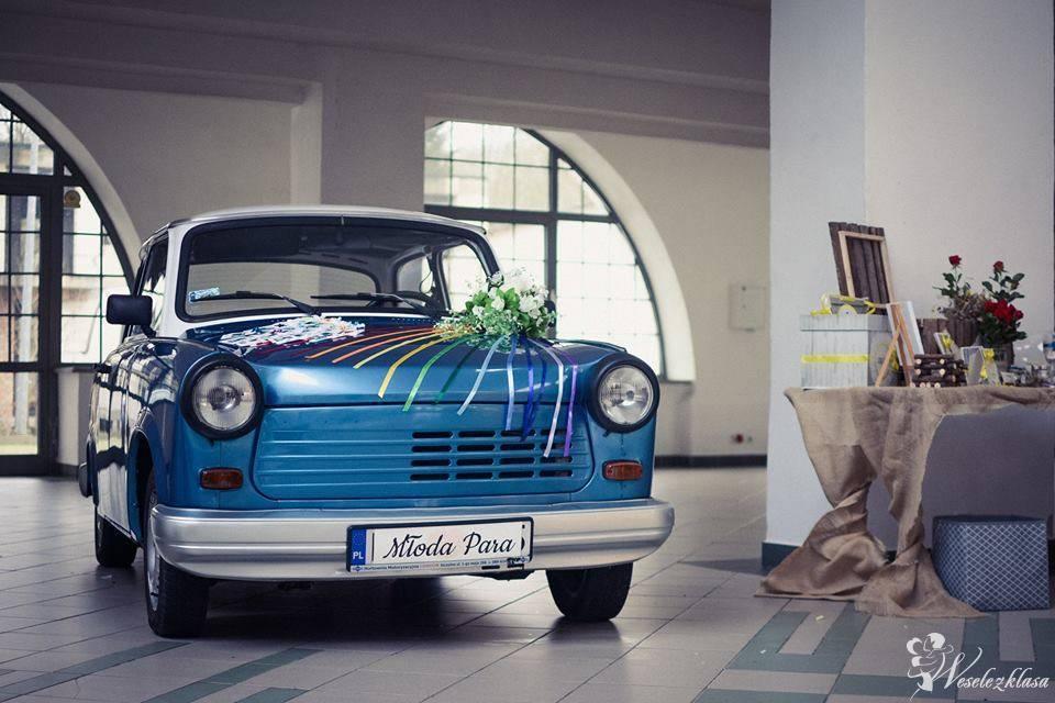 Auto do Śluby, Trabant samochód retro, Toruń - zdjęcie 1