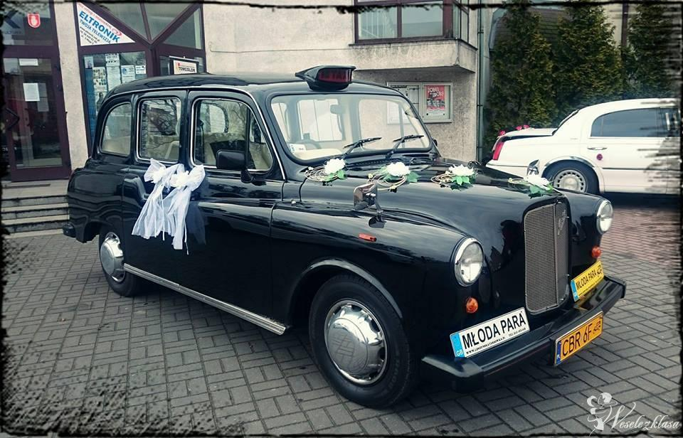 Londyńska Taksówka,London Taxi,Black Cab,Retro, Auto do Ślubu,taxi, Brodnica - zdjęcie 1