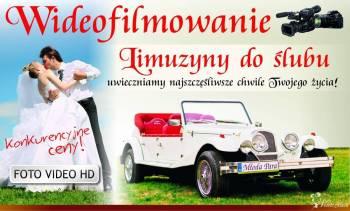 samochód do ślubu zdjęcia kamera DRON, Samochód, auto do ślubu, limuzyna Sandomierz