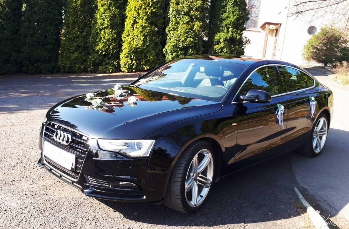 Samochód Auto do Ślubu Audi A5 S-line *czarne*, Rydułtowy - zdjęcie 1