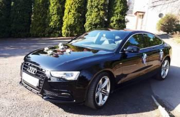 Samochód Auto do Ślubu Audi A5 S-line *czarne*, Samochód, auto do ślubu, limuzyna Ogrodzieniec