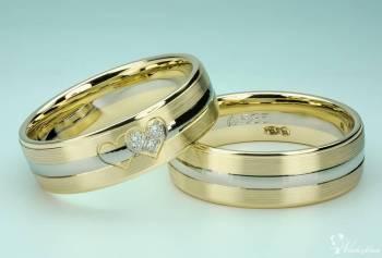 Eminence - niepowtarzalne obrączki ślubne., Obrączki ślubne, biżuteria Pieszyce