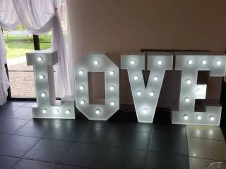 Wynajem napisu LOVE Fotobudka wesele, poprawiny, sesje zdjęciowe,  Słupsk