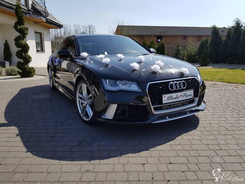 Piękne Audi A7/RS7 Mercedes CLA Ford MUSTANG do ślubu, Kalisz - zdjęcie 1
