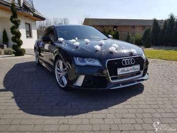 Piękne Audi A7/RS7 Mercedes CLA Ford MUSTANG do ślubu, Samochód, auto do ślubu, limuzyna Turek