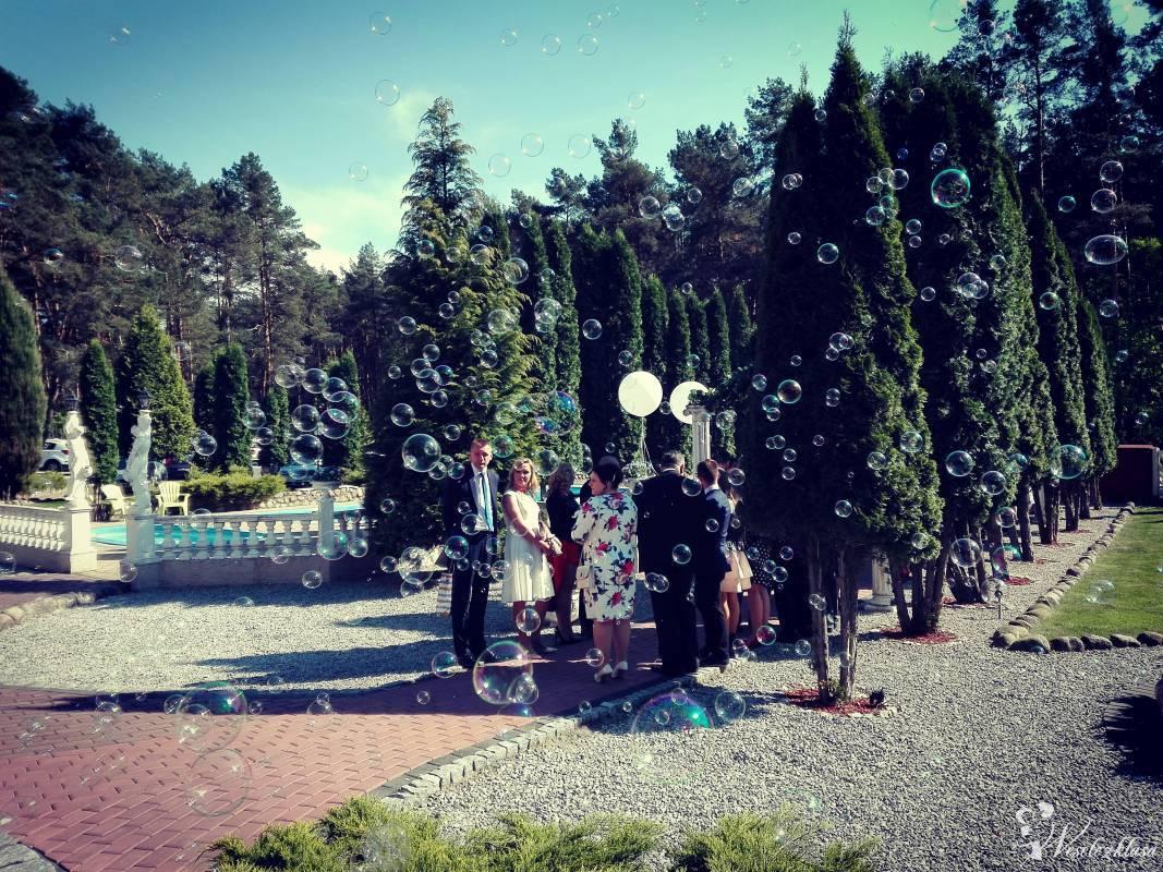 Wytwornica baniek mydlanych, Bańki mydlane na Ślub, Wesele, Napis LOVE, Poznań - zdjęcie 1