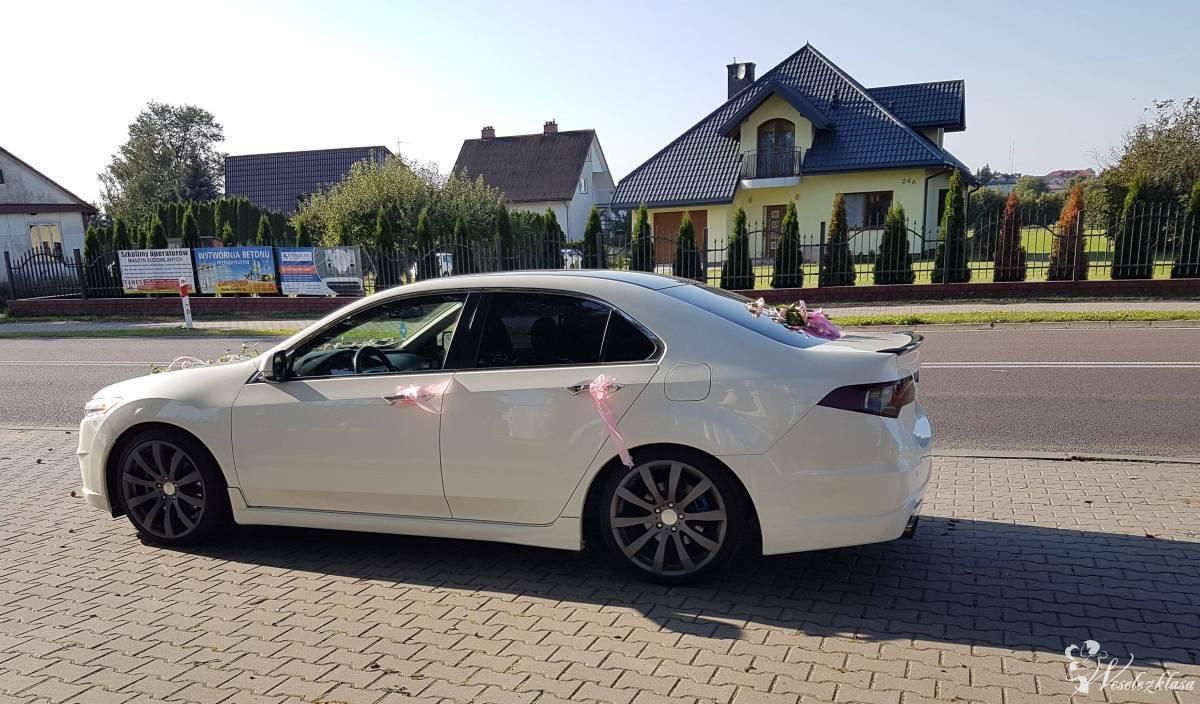 Samochód do ślubu, auto na wesele. Honda Accord VIII Aero, *Biała* Per, Lublin - zdjęcie 1