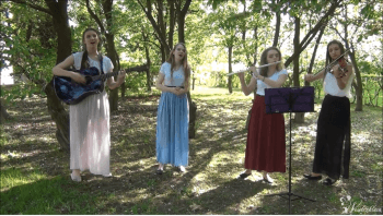 Kwartet Filia - gitara, flet poprzeczny, altówka, wokal, Oprawa muzyczna ślubu Międzyrzec Podlaski