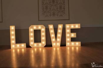 Napis LOVE- 3D, nowy, Napis Love Myślenice