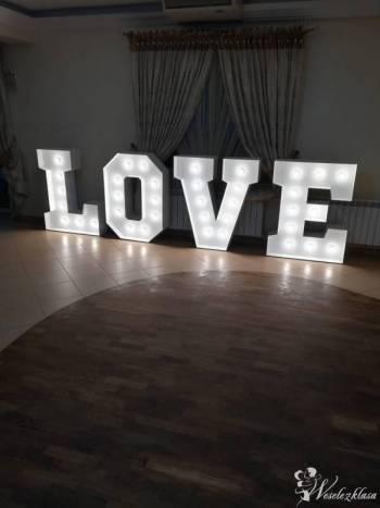 Napis LOVE, Napis Love Ostrów Mazowiecka