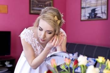 Fryzura i makijaż ślubny wieczorowy dzienny inny wizażystka Angiewiz, Makijaż ślubny, uroda Żukowo