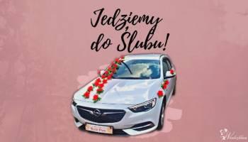 Biała Limuzyna Ślubna, Samochód, auto do ślubu, limuzyna Drohiczyn