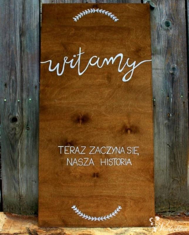 Drewniane dekoracje, Wynajem bramy ślubnej., Gdynia - zdjęcie 1