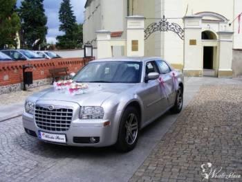 Auto do ślubu chrysler 300c, Samochód, auto do ślubu, limuzyna Dolsk