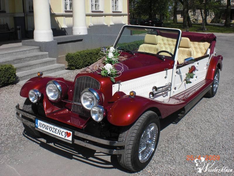 Auto do ślubu kabrio retro, Jarocin - zdjęcie 1
