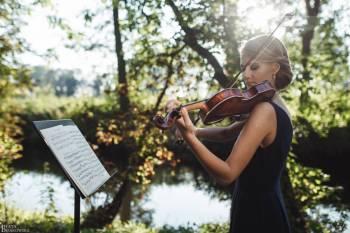 Skrzypce - oprawa muzyczna - Musique.Band, Oprawa muzyczna ślubu Węgrów