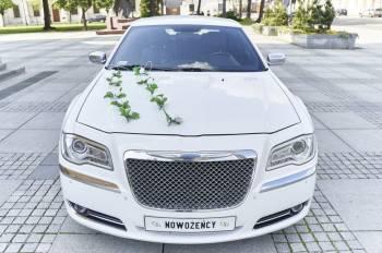 Boss Limuzyny | Auto do Ślubu Chrysler 300c 22-calowe felgi | JEDYNY, Samochód, auto do ślubu, limuzyna Warta