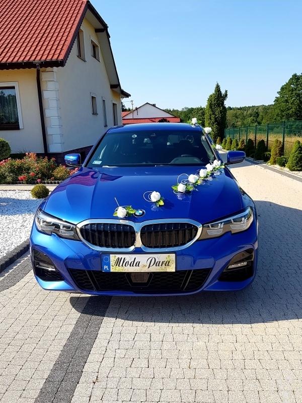 BMW serii 3 auto do ślubu lub inne uroczystości, Strawczyn - zdjęcie 1