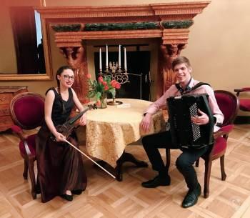 Duet Skrzypce & Akordeon, Oprawa muzyczna ślubu Radłów