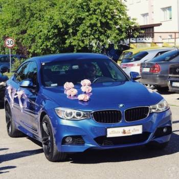 Samochód do ślubu Luksusowe BMW GT, Samochód, auto do ślubu, limuzyna Braniewo