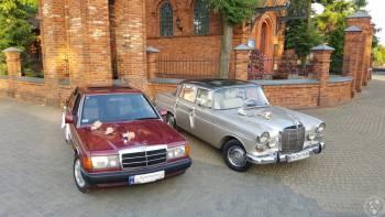 Auta - Zabytkowy Mercedes 1964r skrzydlak., Samochód, auto do ślubu, limuzyna Łódź