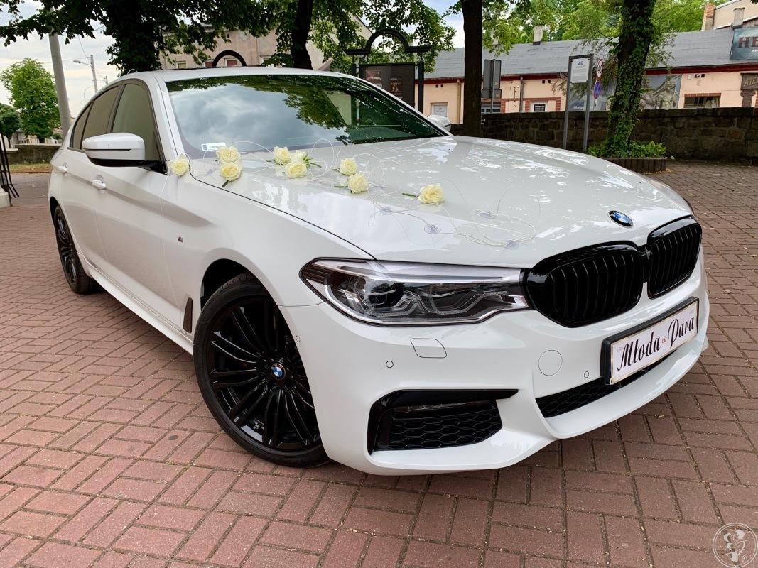Samochód do ślubu BMW 5 M-performance, model 2019r., Częstochowa - zdjęcie 1