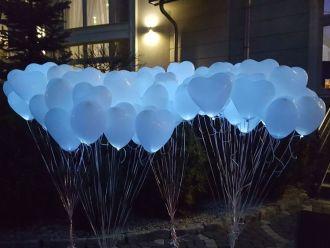 Balony LED- Pudło balonowe - ATRAKCJE WESELNE,  Katowice