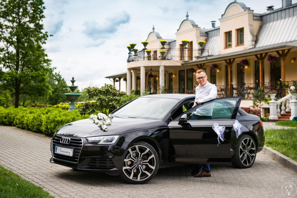 Nowe Audi A4 do ślubu na terenie , Gliwice - zdjęcie 1