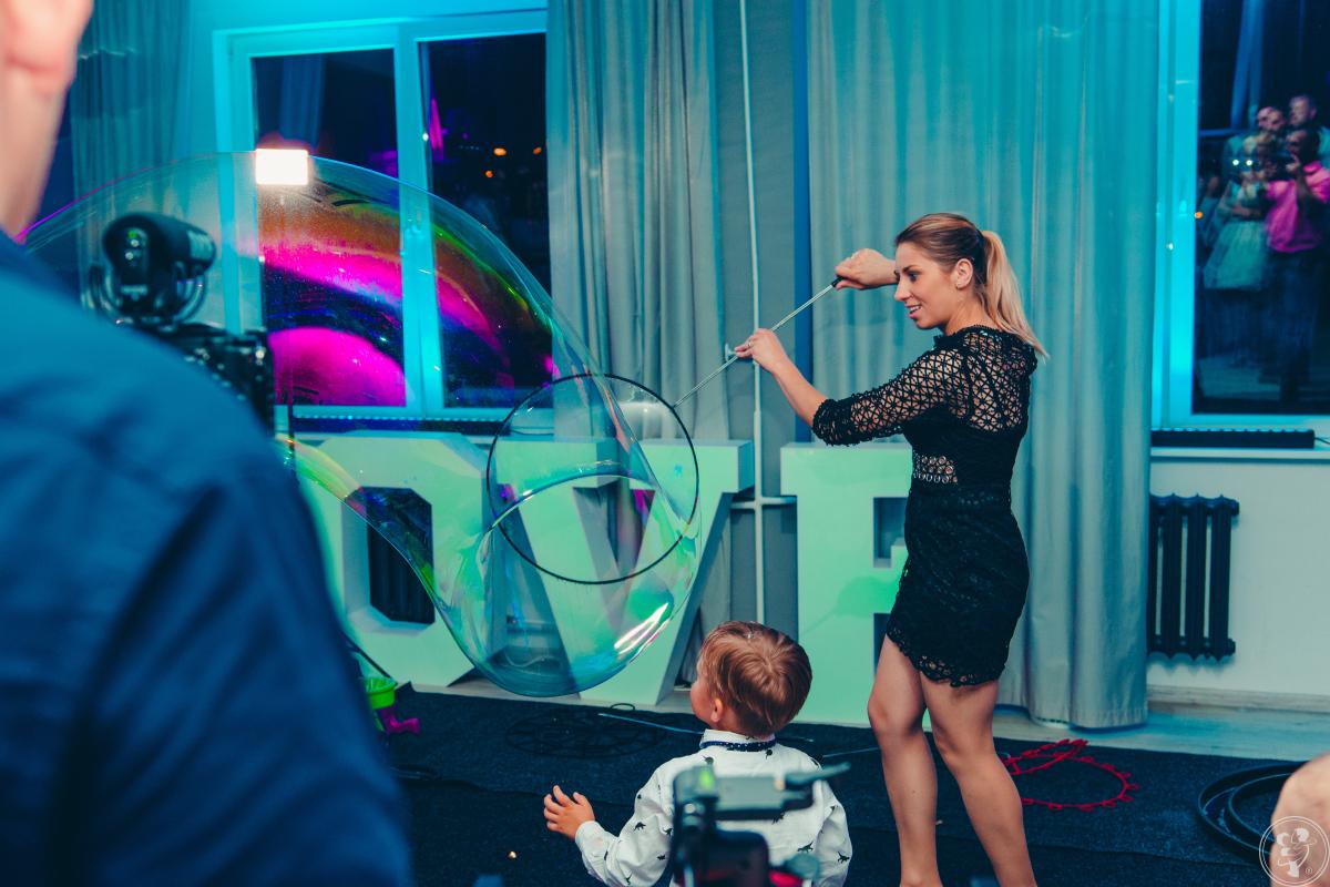 Artystyczny pokaz baniek mydlanych -Amazing Bubble Show, Mogilno - zdjęcie 1
