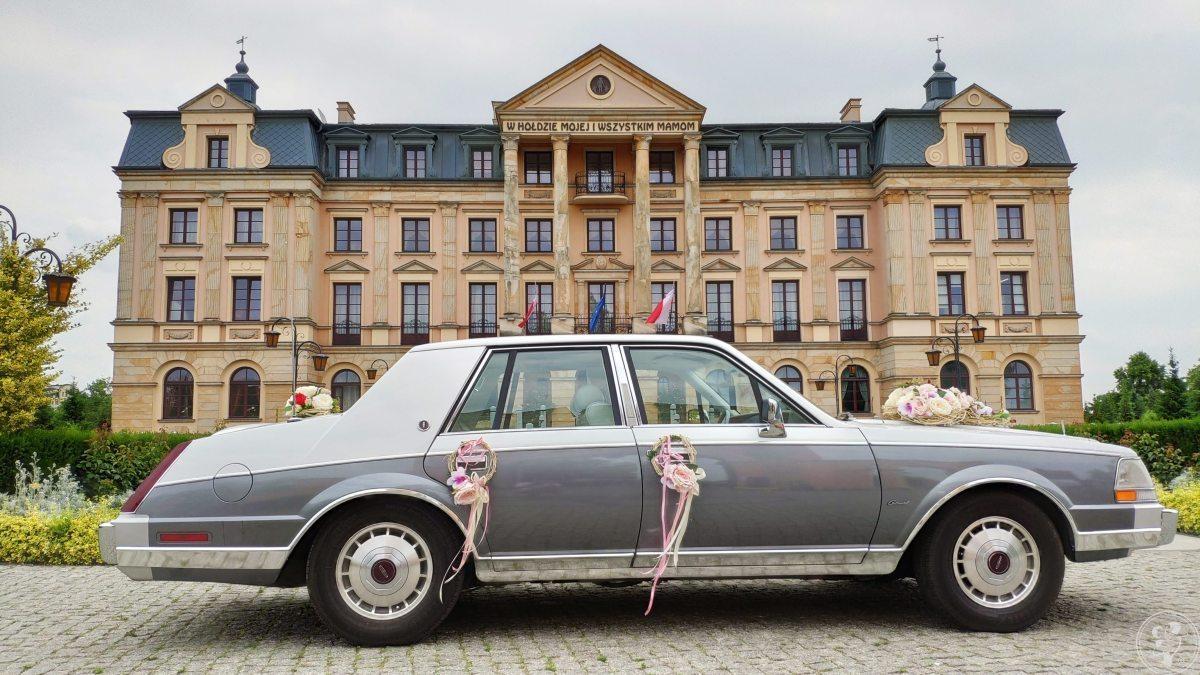 Lincoln Continental Mark VII z 85r. - Auto do ślubu, Włocławek - zdjęcie 1