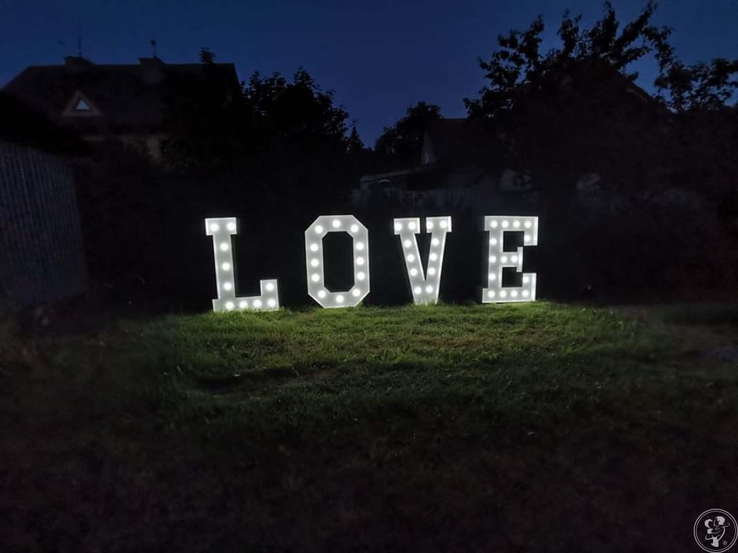 Wynajmę podświetlany napis LOVE, Kalwaria Zebrzydowska - zdjęcie 1
