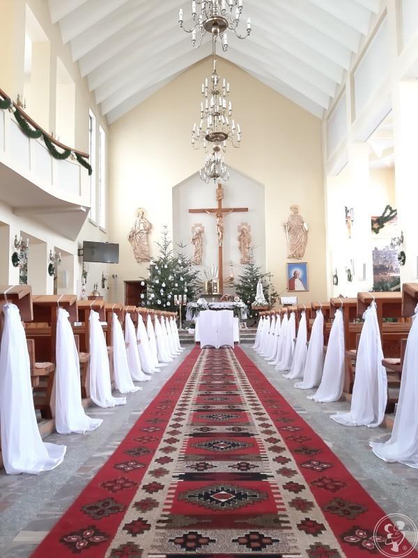Dekoracja wystrój kościoła na ślub wesele chrzest komunie, Dębica - zdjęcie 1