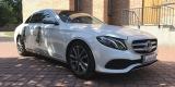 AUTO DO ŚLUBU Biały Mercedes E Avantgarde. Samochód do ślubu Jaguar XF, Piaseczno - zdjęcie 5