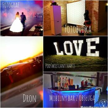 Fotobudka// Napis LOVE// Mobilny Barman !, Fotobudka, videobudka na wesele Koszalin