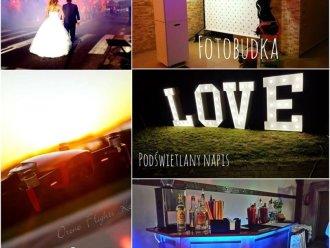 Fotobudka// Napis LOVE// Mobilny Barman !,  Koszalin