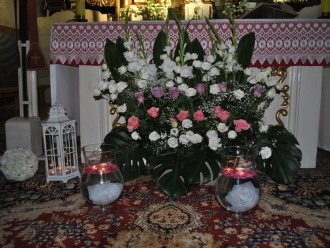 Dekoracja Kościoła,  Rudniki