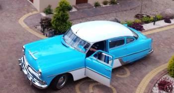 Zabytkowe auto do ślubu Hudson Hornet, Samochód, auto do ślubu, limuzyna Wałcz