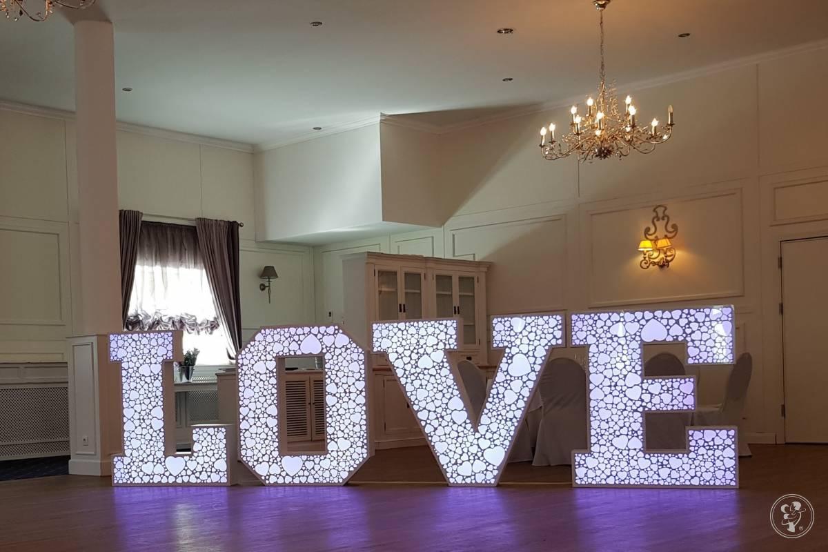 Kolorowe LOVE 3D 120cm ! Doskonała dekoracja ślubna!, Radom - zdjęcie 1