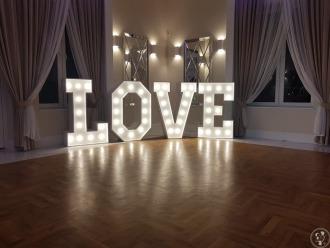 Napis LOVE ślub wesele poprawiny,  Kielce