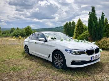 WedCar - AUTO DO ŚLUBU BMW 520d (G30), Samochód, auto do ślubu, limuzyna Bolków