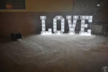 Podświetlany Napis Love - Wynajem, Napis Love Rzgów