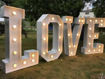 Przepiękny napis LOVE, Napis Love Łask