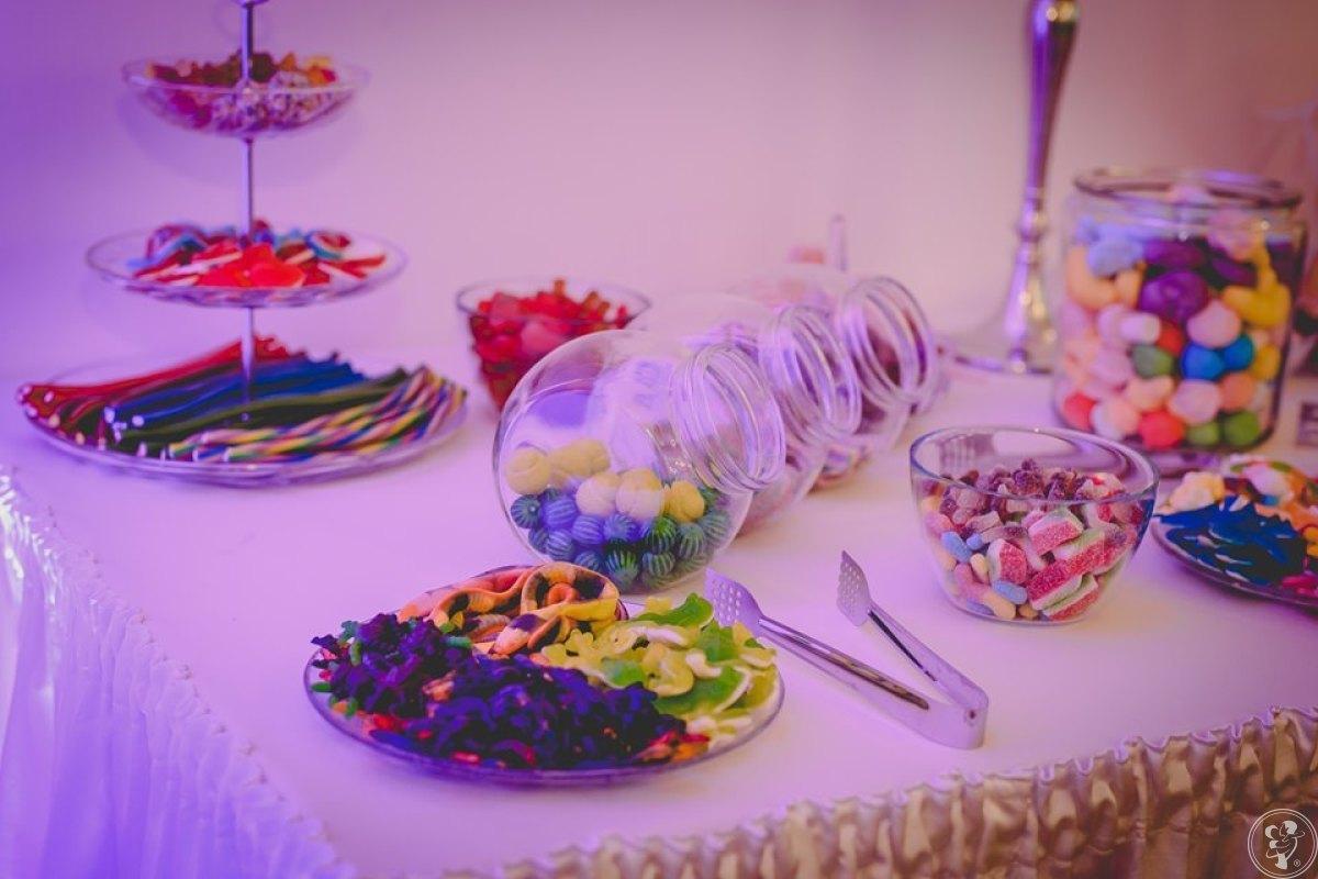 Żelkowy stół; słodki stół; słodki kącik; candy bar, Łaskarzew - zdjęcie 1