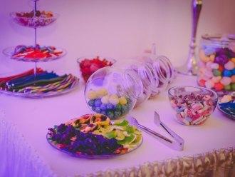 Żelkowy stół; słodki stół; słodki kącik; candy bar,  Łaskarzew