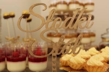 Candy Bar Stół Słodkości Pozytywka, Słodki kącik na weselu Byczyna