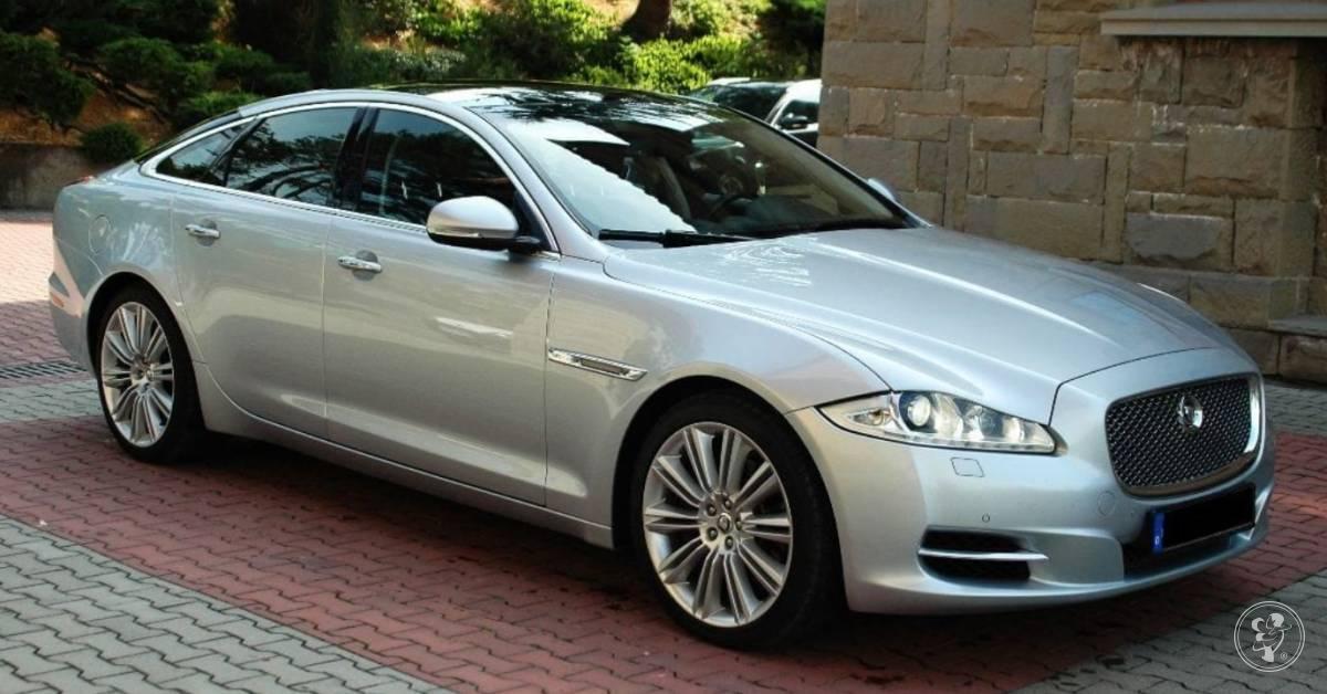 Luksusowy Jaguar do ślubu, Rzeszów - zdjęcie 1