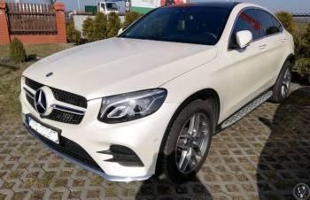 MERCEDES GLC COUPE AMG w kolorze perłowym !, Samochód, auto do ślubu, limuzyna Koniecpol